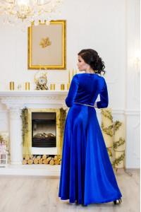 Платье «Лада» цвета электрик