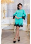 Сукня «Рубіна» бірюзового кольору