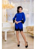 Сукня «Рубіна» кольору електрик