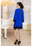 Платье «Рубина» цвета электрик