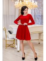 Платье «Мисс» красного цвета