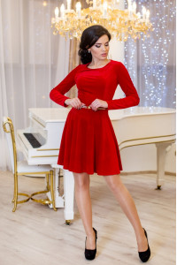 Сукня «Міс» червоного кольору
