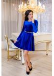 Сукня «Міс» кольору електрик