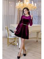 Сукня «Міс» бордового кольору