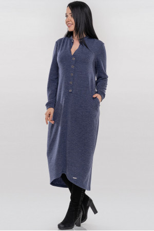 Платье «Грета» синего цвета