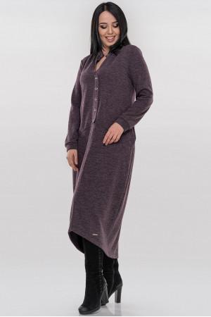 Платье «Грета» фиолетового цвета