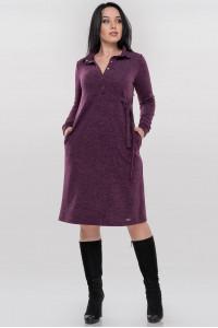 Платье «Терри» фиолетового цвета