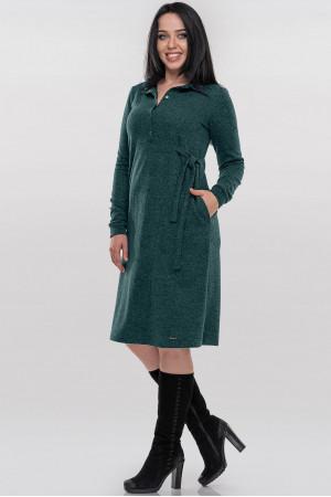 Платье «Терри» зеленого цвета