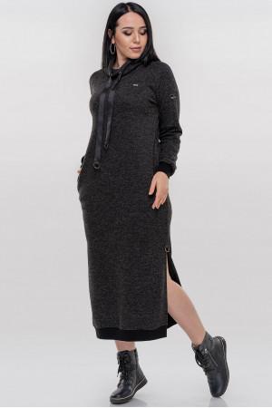 Сукня «Френсіс» темно-сірого кольору