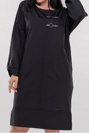 Платье «Кая» черного цвета