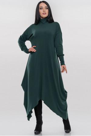 Платье «Пилл» темно-зеленого цвета