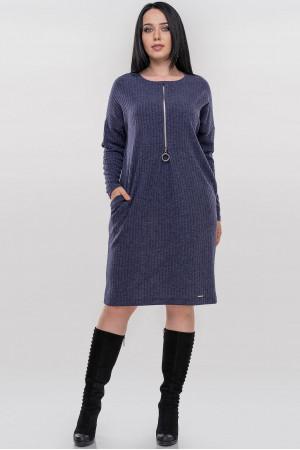 Сукня «Севіль» синього кольору
