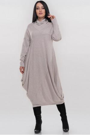 Платье «Дорота» бежевого цвета