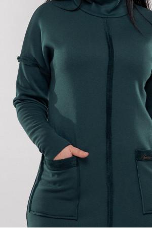 Платье «Аделла» зеленого цвета