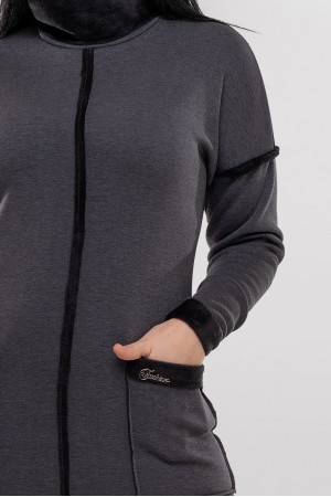 Платье «Аделла» серого цвета