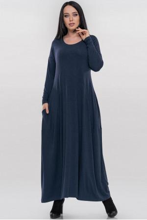 Платье «Мейбелл» синего цвета