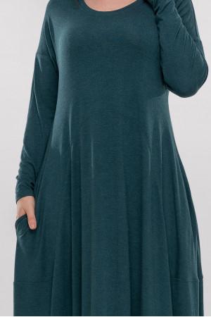 Сукня «Мейбел» темно-зеленого кольору
