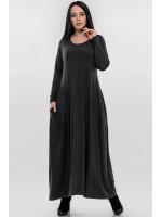 Сукня «Мейбел» темно-сірого кольору