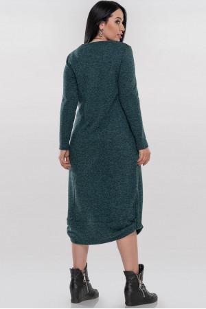 Платье «Эдо» зеленого цвета