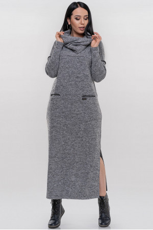 Сукня «Даша» сірого кольору