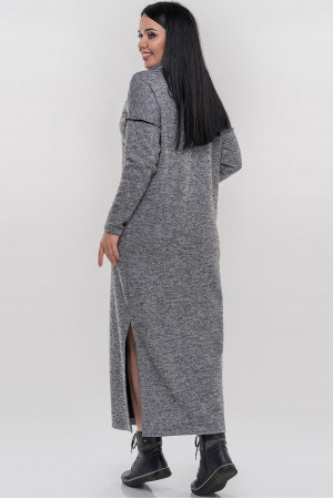 Платье «Даша» серого цвета