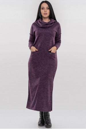 Платье «Даша» фиолетового цвета
