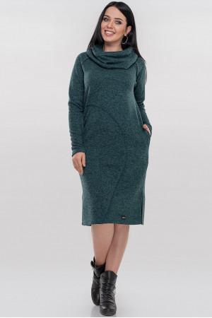 Платье «Кайса» зеленого цвета
