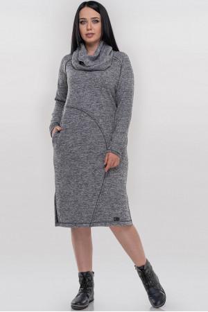 Сукня «Кайса» сірого кольору
