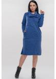 Сукня «Кайса» синього кольору