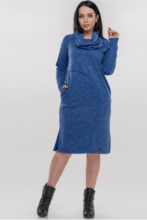 Платье «Кайса» синего цвета