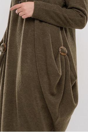Платье «Эбигейл» цвета хаки