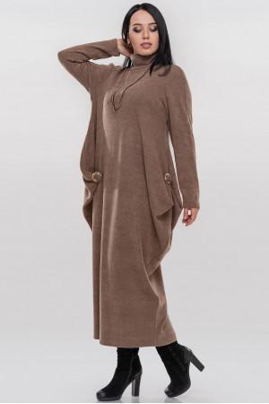 Сукня «Ебігейл» кольору кави