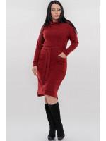Платье «Кларин» красного цвета
