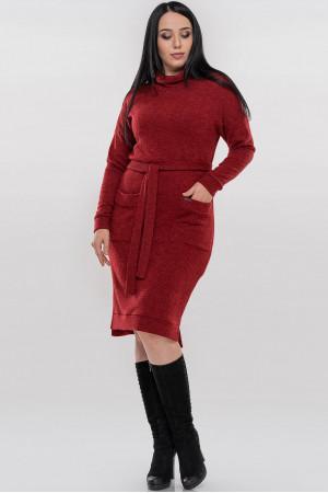 Сукня «Кларін» червоного кольору