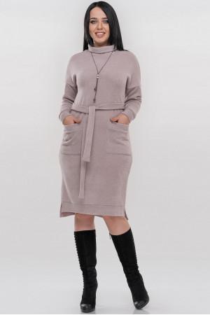 Сукня «Кларін» кольору пудри