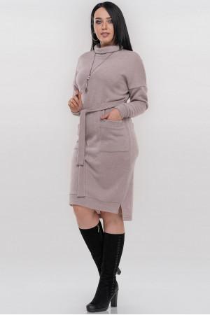 Платье «Кларин» цвета пудры