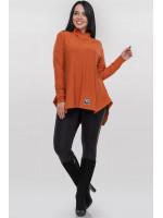 Туніка «Едда» оранжевого кольору
