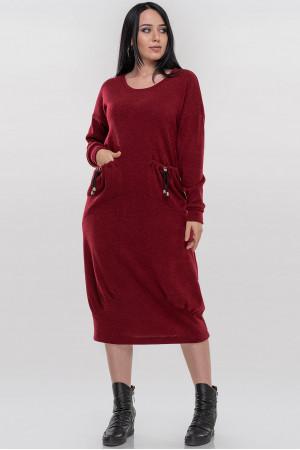 Сукня «Іда» червоного кольору