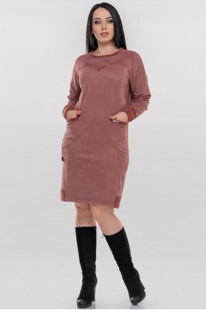 Платье «Клодия» гранатового цвета