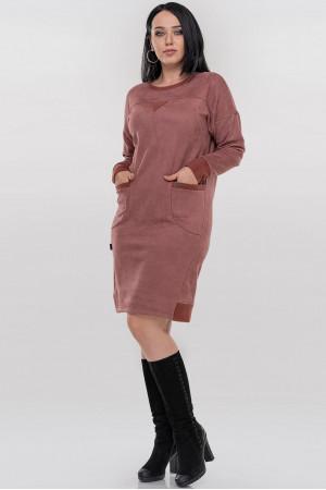 Сукня «Клодія» гранатового кольору