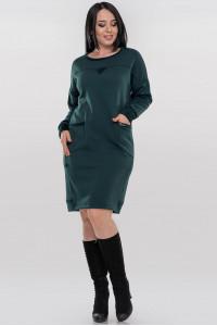 Сукня «Солло» зеленого кольору