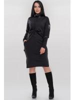 Платье «Джетта» черного цвета