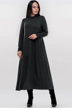 Сукня «Солвейг» темно-сірого кольору