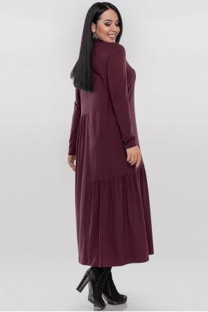 Сукня «Солвейг» бордового кольору
