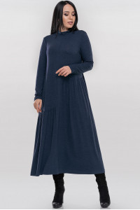 Сукня «Солвейг» синього кольору