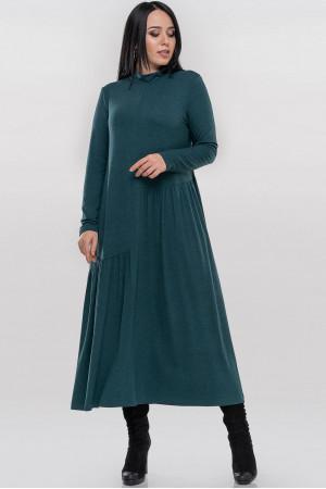 Платье «Солвейг» бирюзового цвета