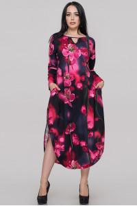 Платье «Брао» с цветочным принтом