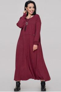 Сукня «Лоліта» бордового кольору