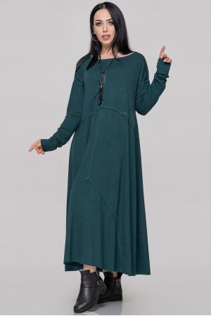 Платье «Лолита» темно-зеленого цвета