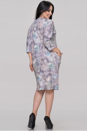Платье «Шания» сиреневого цвета